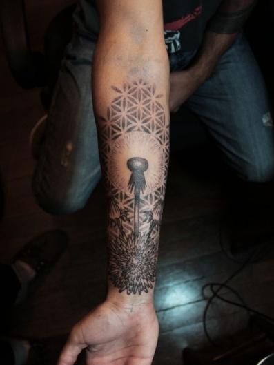 dexalha #tattoo #black
