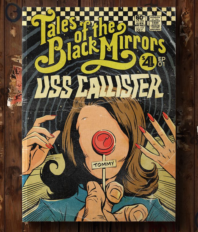 Butcher Billy's Tales of the Unexpected Black Mirrors on Behance