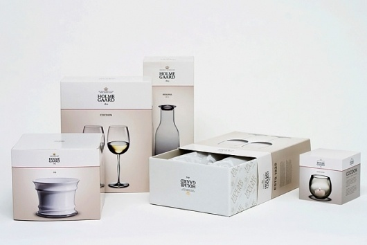Make - Work - Projects - Holmegaard #packaging #brand #make