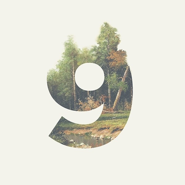 9 days large #dave #coleman #countdown #photography #typography