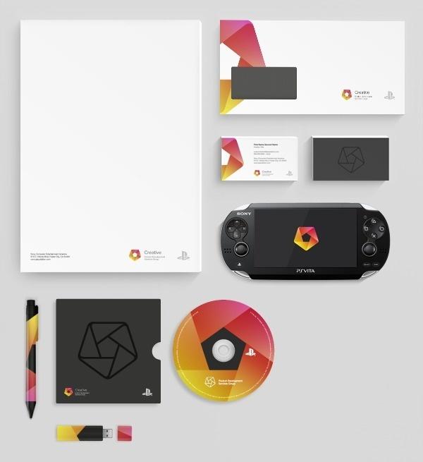 Sony PDSG Branding #sony #brand #identity #gaming