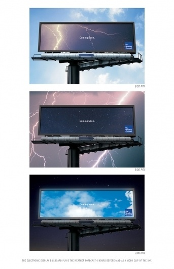 Jang Cho #channel #billboard #weather #advertising