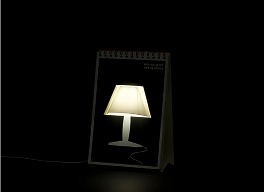 """Creative Table Lamp """"Page by Page"""" #art"""