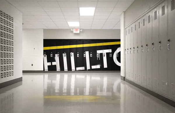 Marshall School - Cody Paulson | Creative Person #graphics #wall