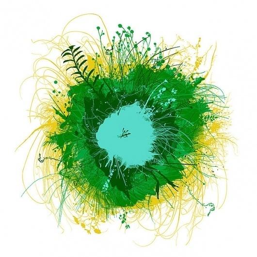 CHRIS KEEGAN #chris #grass #round #world #illustration #nature #keegan