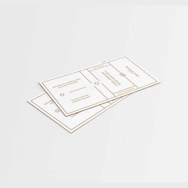 White business card mock up with golden details Free Psd. See more inspiration related to Logo, Business card, Mockup, Business, Abstract, Card, Template, Office, Presentation, White, Stationery, Golden, Corporate, Mock up, Company, Abstract logo, Modern, Corporate identity, Identity, Identity card, Business logo, Company logo, Logo template, Mockups, Up, Corporative, Details, Mock ups, Mock and Ups on Freepik.