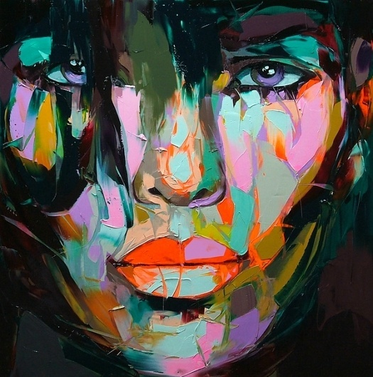 Francoise Nielly Paintings 2011 #francoise #portrait #painting #art #nielly