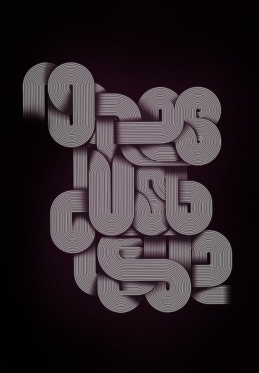 No Lies Just Love on the Behance Network #illustration #typography