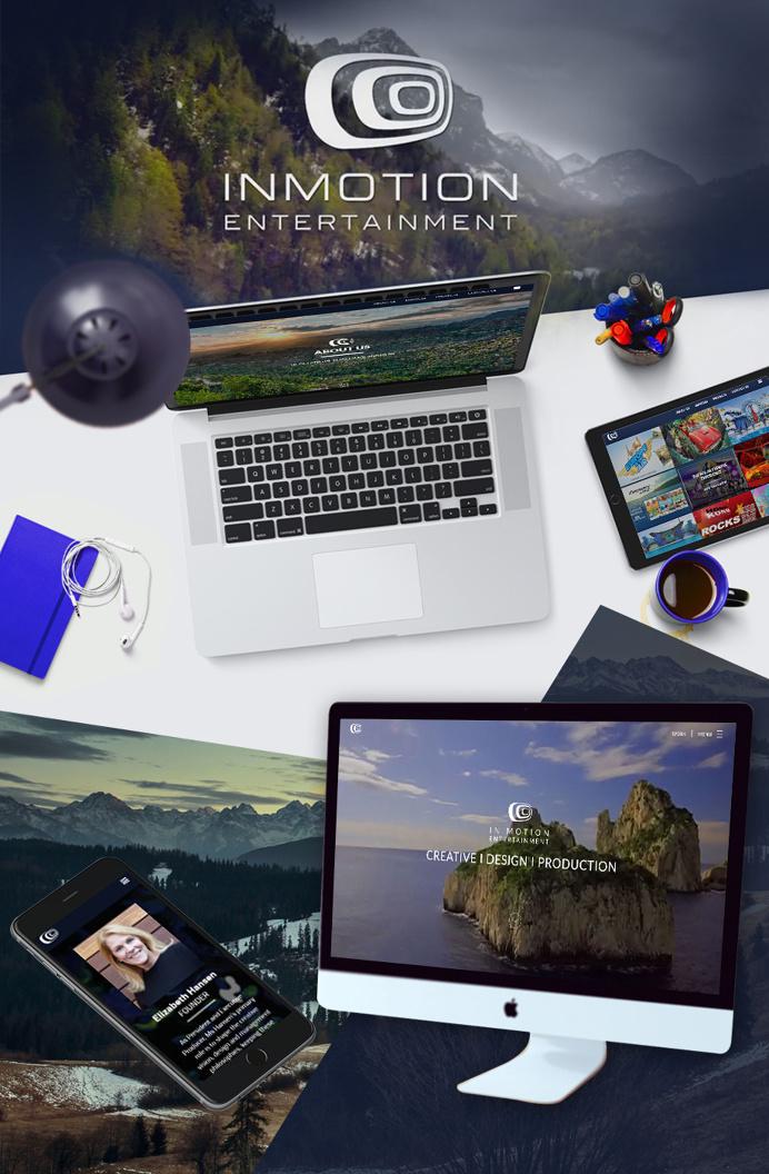 InMotion Entertainment Web Design #WebDesign #website #site #web #ui #ux #www #responsive #wordpress