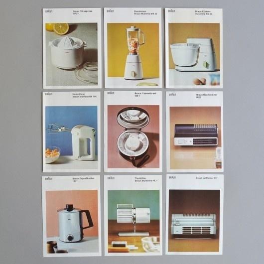 Braun Brochures | WANKEN - The Art & Design blog of Shelby White #layout #braun