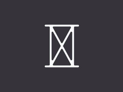 Hourglass (WIP logo) #mark #logo #branding