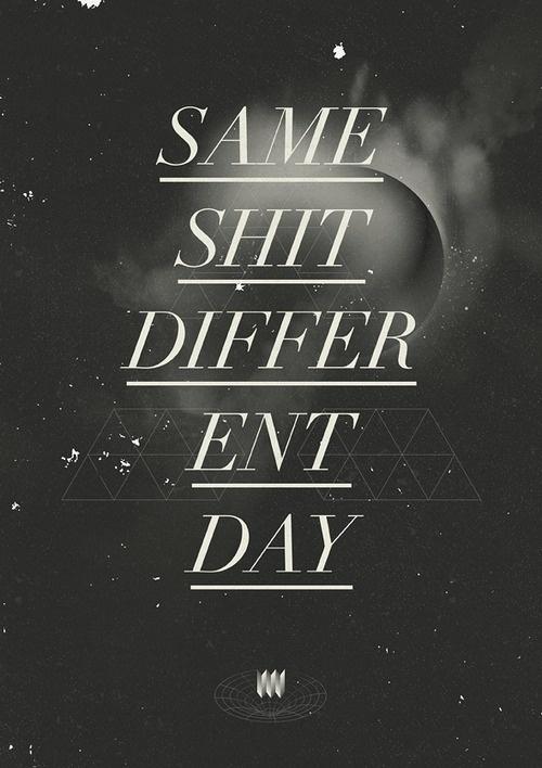 Inspiration | Jordan Lloyd #white #retro #black #poster #and #typography