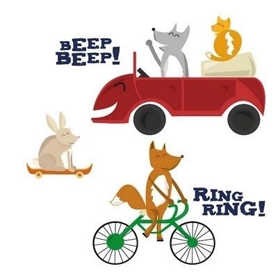 Jess Bright Design #illustration #characters #animals
