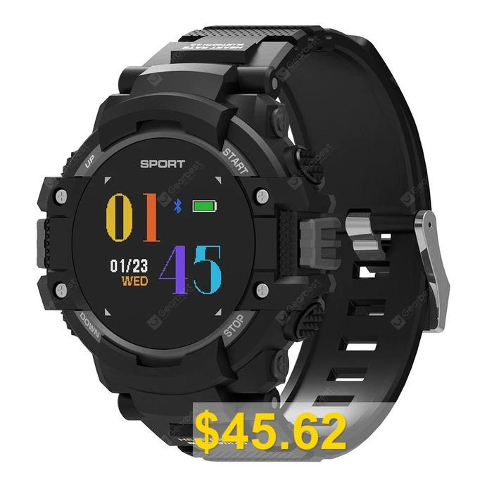 NO.1 #F7 #Smart #Watch #- #BATTLESHIP #GRAY