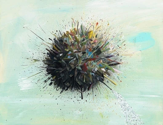 Ethan Hayes-Chute -- Junk Ball #illustration #art #fine