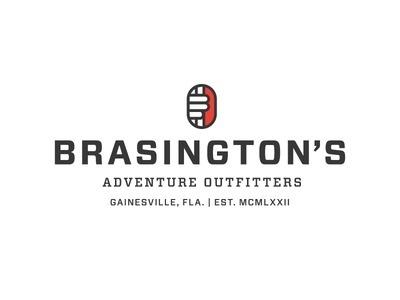 Brasington's Logo Lockup #branding #adventure #icon #lockup #outfitter #logo