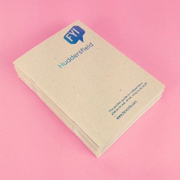 FYI — Huddersfield Edition One by A.N.D Studio #foiling #guide #print #design #graphic #book #cover #craft #layout #editorial