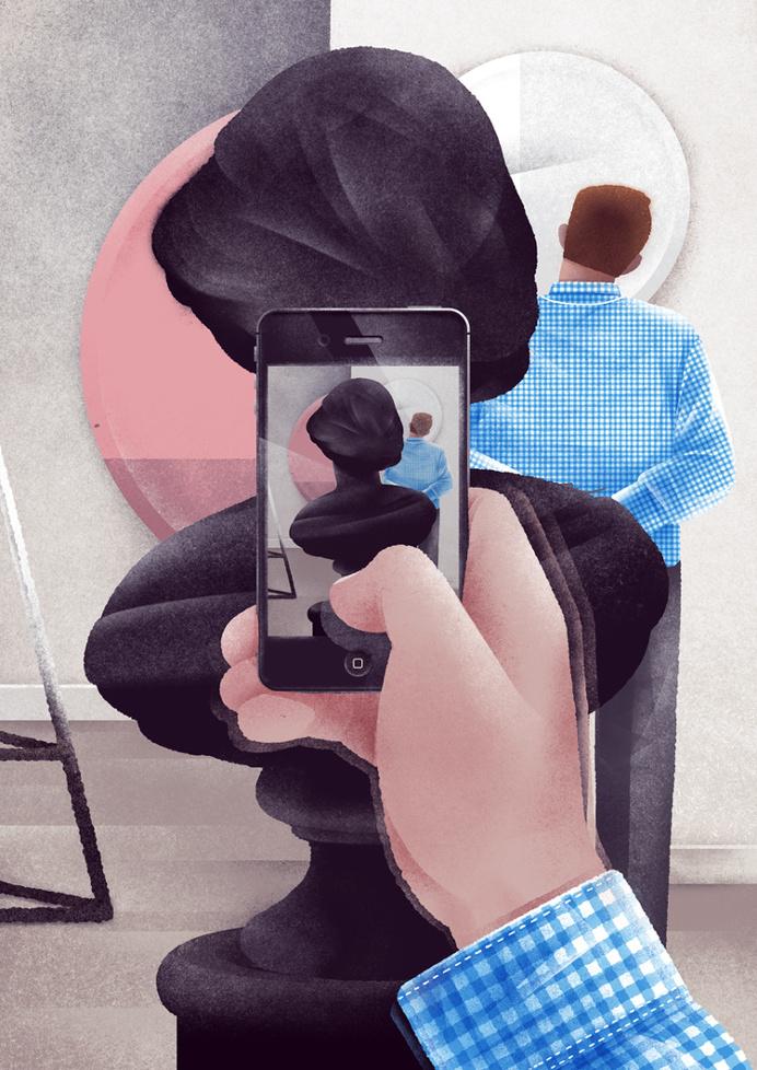 #illustration #art #iphone #museum