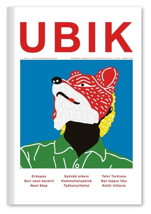 Ubik Cover, 2014 #print #illustration