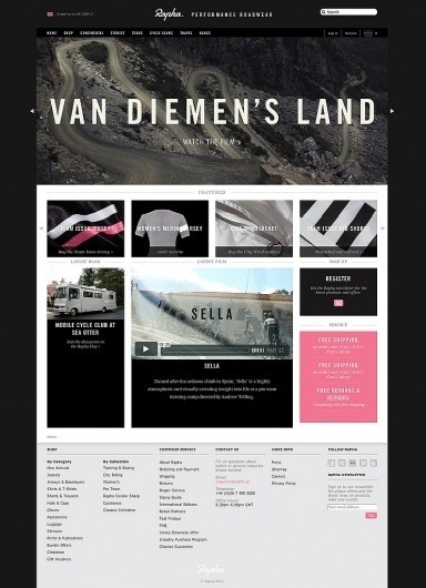 All sizes | Rapha | Flickr - Photo Sharing! #homepage #carousel #lyout #design #website #rapha #condensed #web