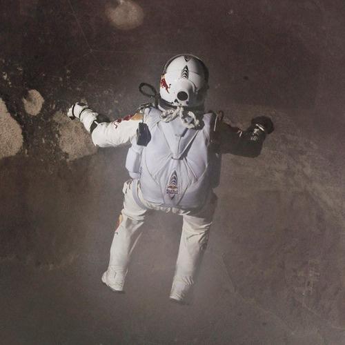 great jump #red #bull #stratos #jump #baumgartner #great #felix