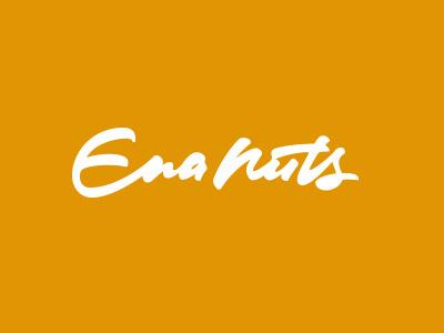 Enanuts #script #branding #written #fashion #logo #hand