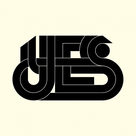 All sizes | YES | Flickr - Photo Sharing! #lettering #logo #pettis #type #jeremy #typography