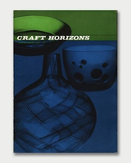 Craft Horizons Magazine, 1950s/1960s / Aqua-Velvet #1959 #cover #craft #overlay #magazine