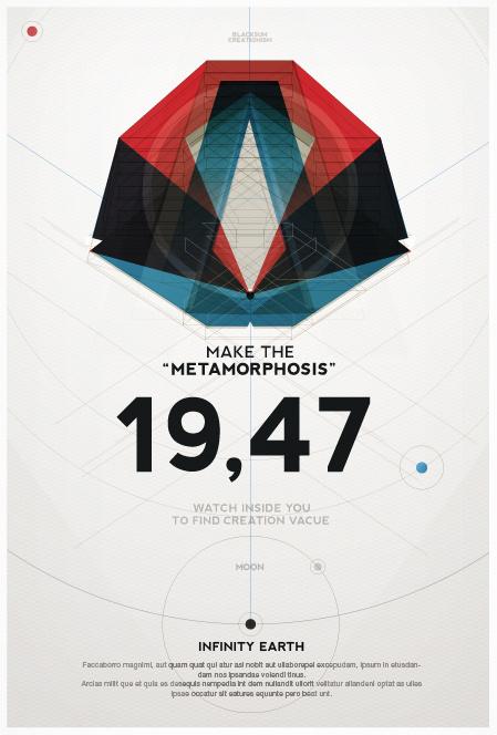 Make the Metamorphosis #polygon #geometry