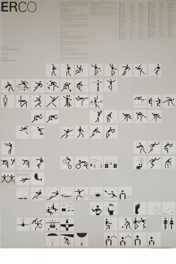 Blanka || Supersize #otl #graphicdesign #aicher #posters #olympics #munich