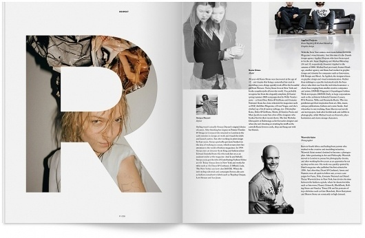 DANSK Magazine #print #layout