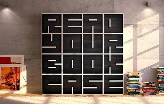 Read-your-Books-Shelf » Design You Trust – Social design inspiration! #shelf #funiture #read #book