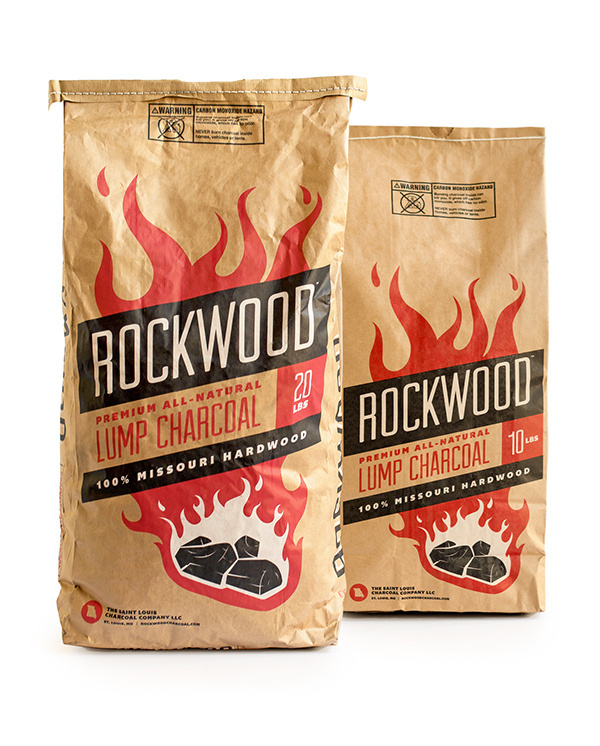 Rockwood Charcoal Packaging on Behance #bag #charcoal