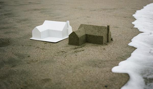 twig #model #sculpture #water #design #sand #tide