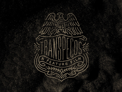 Transpecos_badge_2 #logo #lettering #typography