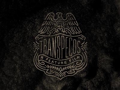 Transpecos_badge_2 #logo #lettering #typography
