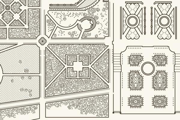 Undo Redo, Paris #nicola #penone #invitation #design #graphic #map #texture #exhibition #versailles #aguzzi