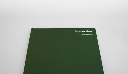 Immersion. The Birthday book | Mostardesign Studio ™ | An Innovative graphic design Studio #book #cover #studio #mostardesign #helvetica