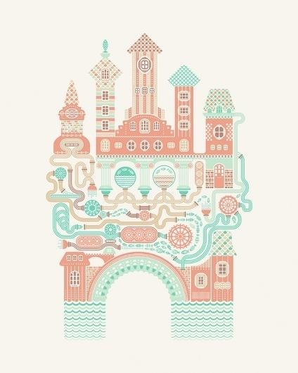 t_shirt illustrations on the Behance Network #icon #illustration