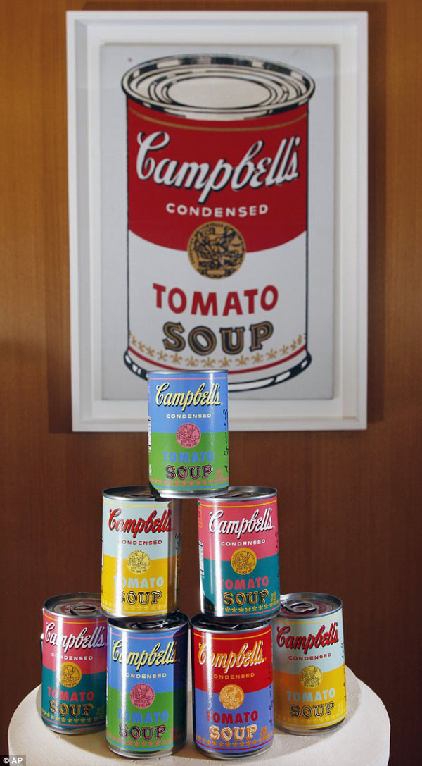 Campbells / Warhol #andy #packaging #campbells #warhol #campbell