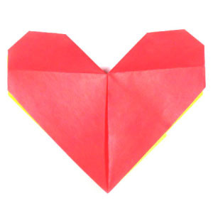 How to make an easy origami heart (http://www.origami-make.org/howto-origami-heart.php)