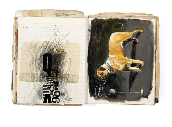 OLIVER JEFFERS SKETCH BOOK #draw #sketching #book #paint #illustration #sketch