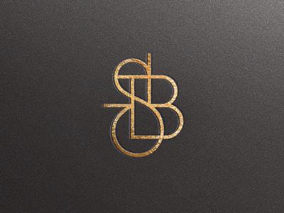 Monogram / Javier Garcia #monogram #lettering #gold and black