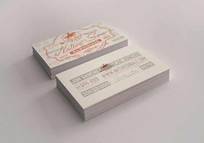 NSA Business Card by Evan Huwa #inspiration #print #design #graphic