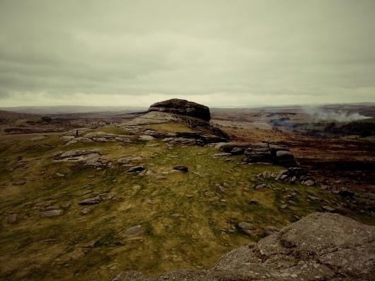 Dartmoor #mountain #smoke #photo #landscape #rocky #terrain #moor