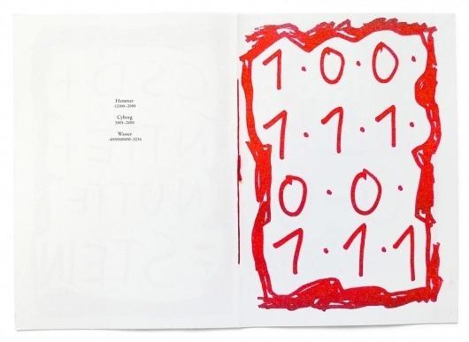 Edition Taube » R+ #zine #book #typo