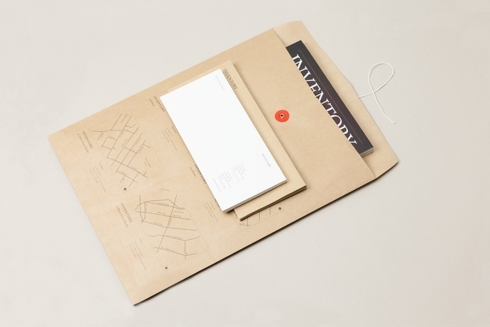 Inventory Stationery #identity #envelope #branding #stationery