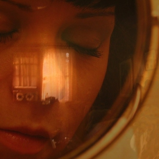 Picture of the Day - Sleep 2108 | TechedOn #girl #sleep #space #sci #fi #face #suit #future