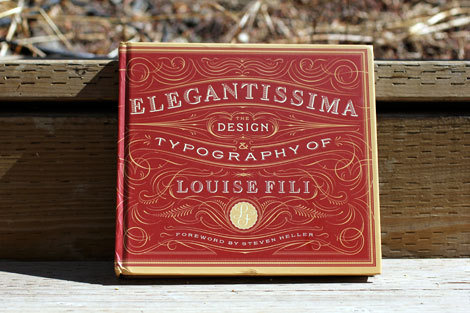 louise fili #formal #color #typography
