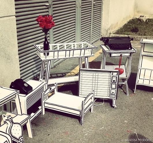 Mi Querida Casa by Vanessa Teodoro » Design You Trust – Design Blog and Community #cartoon #teodoro #vanessa